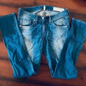 COPY - Rag & Bone skinny Ankle Jeans